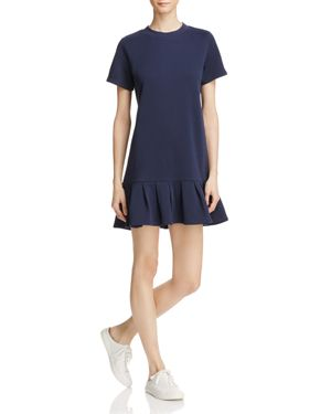 Honey Punch Flounce Tee Dress