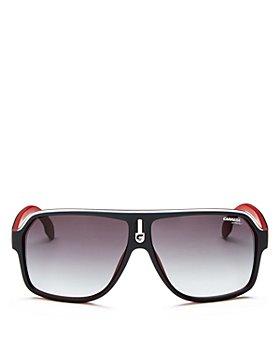Carrera - Men's Oversized Flat Top Aviator Sunglasses, 65mm