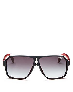 Men's Oversized Flat Top Aviator Sunglasses