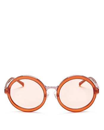 3.1 Phillip Lim - Women's Round Sunglasses, 53mm