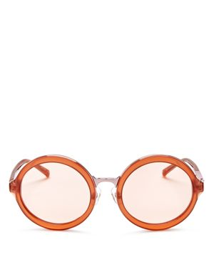 3.1 Phillip Lim Round Sunglasses, 53mm