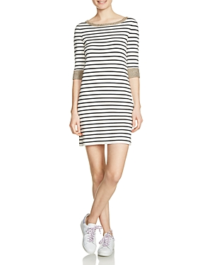Maje Ritani Striped Dress