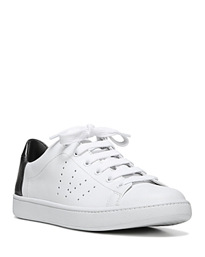 Vince Women's Varin Leather Lace Up Sneakers