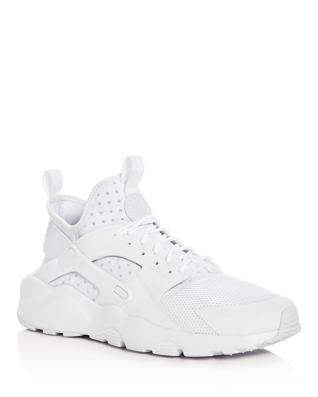 Nike Men's Air Huarache Run Ultra Lace Up Sneakers