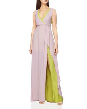 Bcbgmaxazria Layered Gown