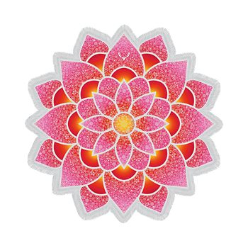 Vagabond - Lotus Love Beach Towel
