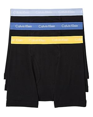 Calvin Klein Cotton Classic Boxer Briefs - Pack of 3