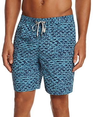 Onia Fish Scale Calder Swim Trunks