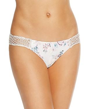Minkpink Secret Garden Crochet Bikini Bottom