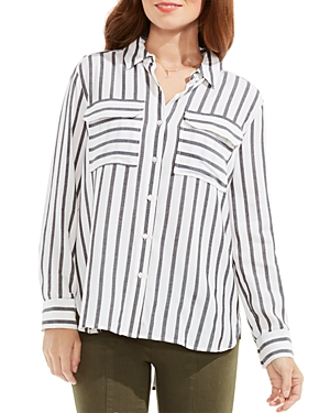 Two by Vince Camuto Stripe Button-Down Shirt