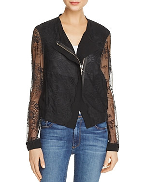 Chelsea And Walker Rikky Silk Lace Jacket