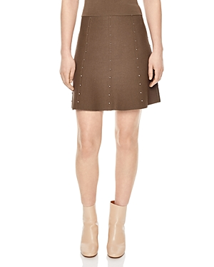 Sandro Gavrill Embellished Skirt