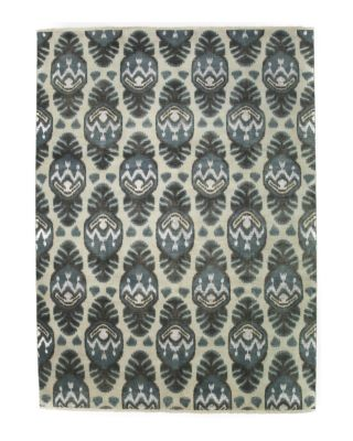"Ikat Collection Oriental Area Rug, 6'2"" x 9'2"""