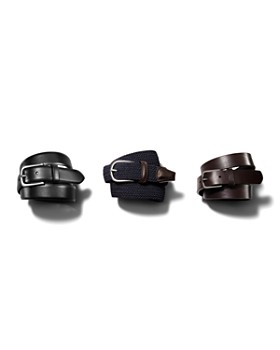 Anderson's - Leather Stretch Woven Belt