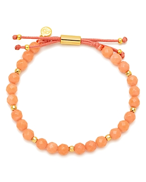 Gorjana Power Coral Bead Bracelet