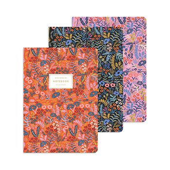 Rifle Paper Co. - Tapestry Notebook, Set of 3