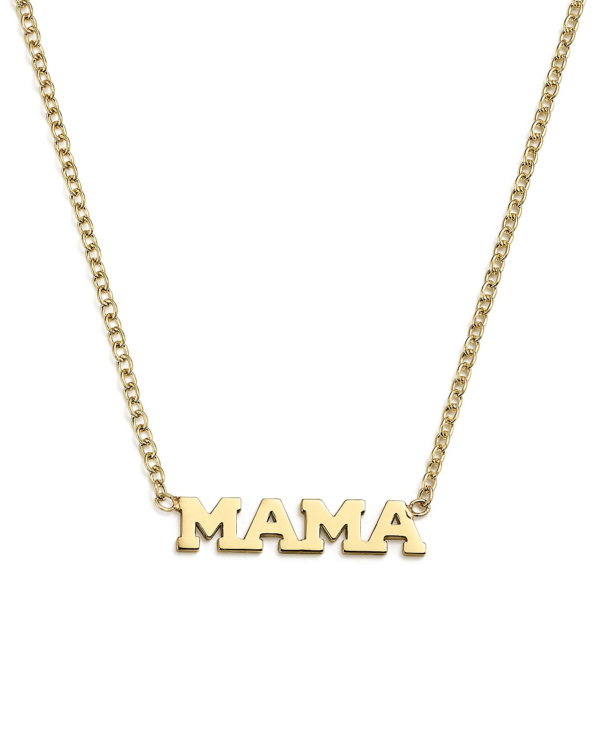 mia gold necklace products lia mama stamped disc pendant
