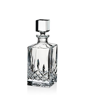 Waterford - Lismore Black Square Decanter Clear