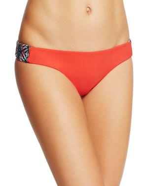 Red Carter Classic Hipster Bikini Bottom