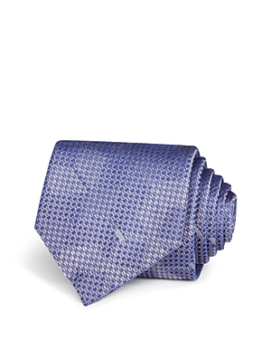 Title of Work Tonal Geometric Squares and Dots Classic Tie