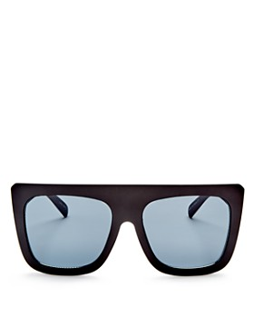 Quay - Women's Cafe Racer Square Sunglasses, 59mm