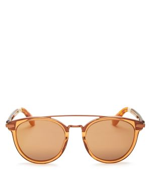 Toms Harlan Mirrored Sunglasses, 51mm