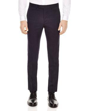 Sandro Micro Slim Fit Dress Pants