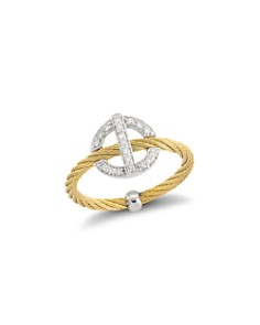 ALOR Diamond Cable Ring - Bloomingdale's_0