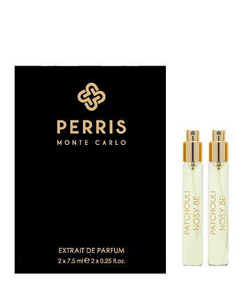 Perris Monte Carlo - Patchouli Nosy Be Extrait de Parfum Travel Spray Refill Gift Set