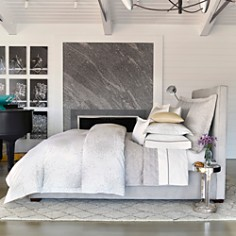 Lulu DK for Matouk Poppy Silver Bedding Collection - 100% Exclusives - Bloomingdale's_0