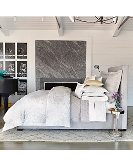 Matouk - Lulu DK for Matouk Poppy Silver Bedding Collection - 100% Exclusives