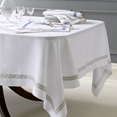 "Matouk - Lowell Tablecloth, 70"" x 126"""