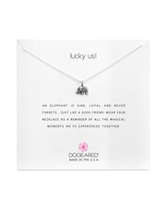 Dogeared - Lucky Us Necklace, 18""