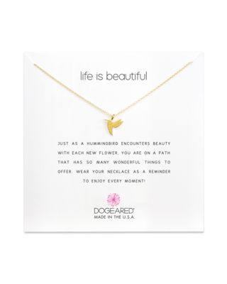 LIFE IS BEAUTIFUL NECKLACE, 16