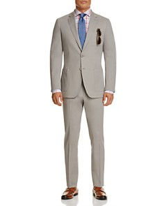 Michael Kors Stretch Cotton Slim Fit Sport Coat, Slim Fit Trousers, Ledbury Berry Check Button Down Shirt & More - Bloomingdale's_0