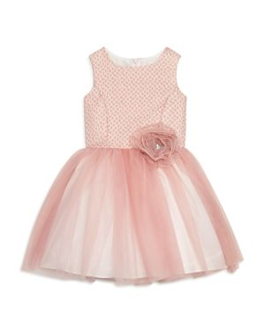 Pippa & Julie Girls' Brocade Tutu Dress - Big Kid