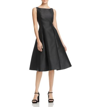 Adrianna Papell Sleeveless Tea-Length Dress