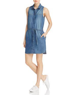 Paige Eugenie Denim Shirt Dress