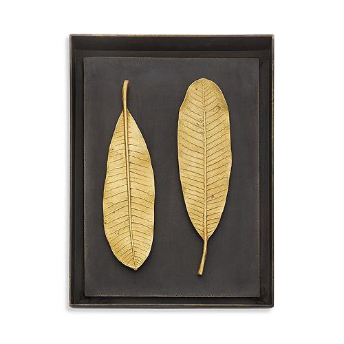 Michael Aram - Champa Leaf Shadow Box