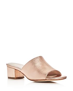 Raye Cara Block Heel Slide Sandals