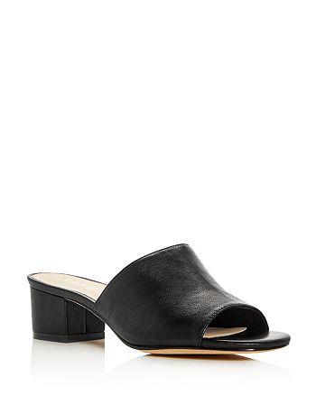 Raye - Women's Cara Block Heel Slide Sandals