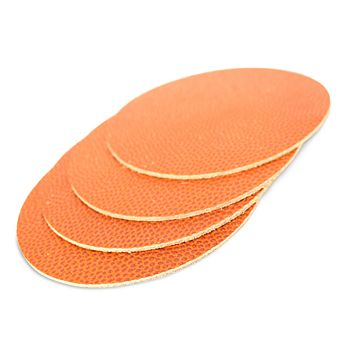 BOARDING PASS - Basketball Leather Coasters, Set of 4