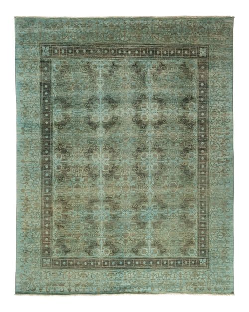 """Solo Rugs - Adina Collection Oriental Rug, 8'1"""" x 9'10"""""""