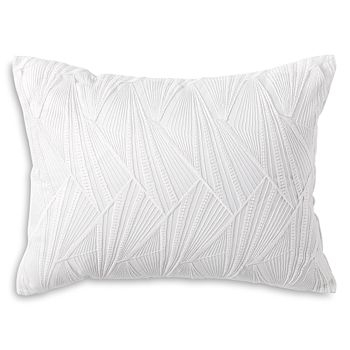 "DKNY - Refresh Embroidered Decorative Pillow, 12"" x 16"""