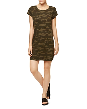 Sanctuary Camo Shirt Dress