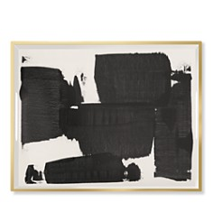 Fringe Black White Large Lacquerd Tray - Bloomingdale's_0