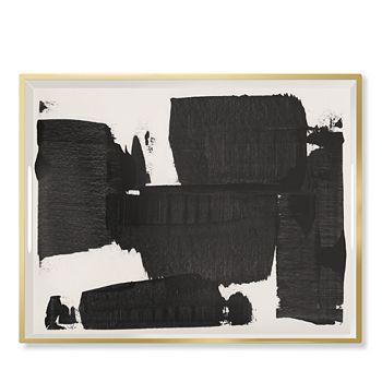 Fringe - Black White Large Lacquerd Tray
