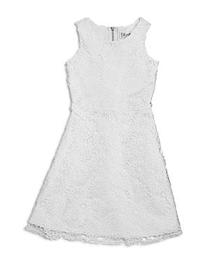 Blush By Us Angels Girls' Lace Flared Dress - Big Kid