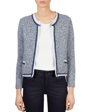 Gerard Darel Jack Tweed Knit Jacket