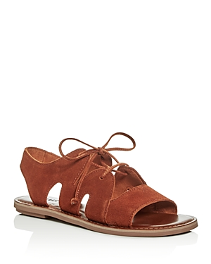 Toms Women's Calipso Suede Lace Up Sandals